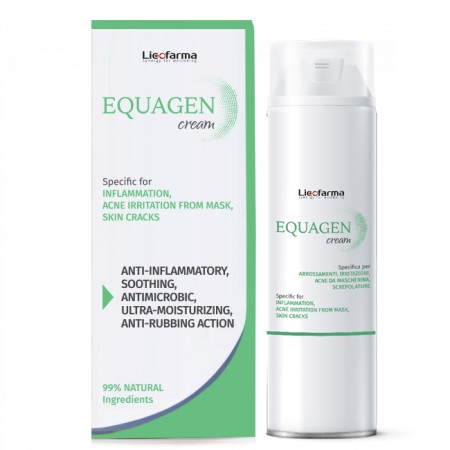 Equagen Face Cream Specific for Inflammation and Skin Cracks - 50 ml