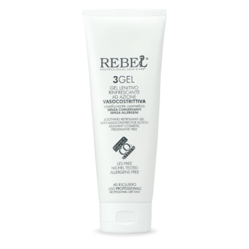 Rebel 3-Gel Gel Lenitivo Vasocostrittore - 250 ml